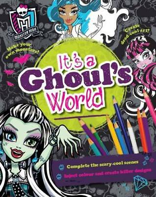 Monster High it's a Ghoul's World (Activity), , New Book