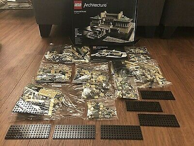 No Box Sealed Bags Lego Architecture Imperial Hotel  no 21017 - 100 % Fedbk !