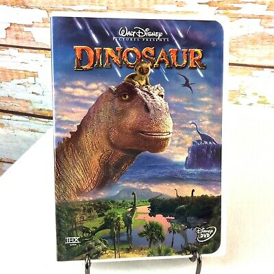 Disney Dinosaur DVD Animated Movie 2000 Rated PG THX Certified Special Features