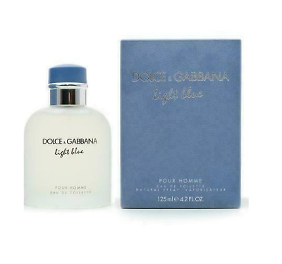 Dolce & Gabbana Light Blue Men 4.2 oz 125ml EDT Cologne Spray BRAND NEW & SEALED