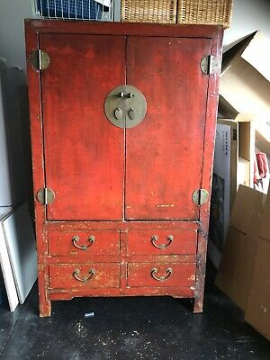 Antique Chinese Wedding Cabinet