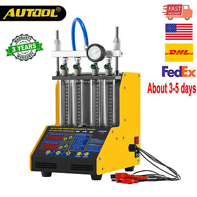 AUTOOL CT-150 Ultrasonic Injector Cleaner&Tester For Petrol Car&Motorcycle  USA
