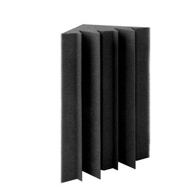 20pcs Studio Acoustic Foam Corner Bass Trap Sound Absorption Treatment Proofing