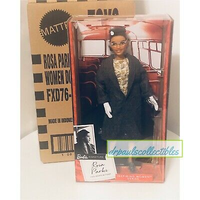Rosa Parks Barbie Doll Inspiring Women Collection 2019 Brand New