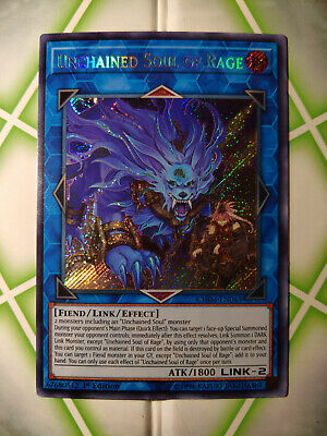 Unchained Soul of Rage [SECRET RARE] [Yu-Gi-Oh!] [CHIM-EN043]