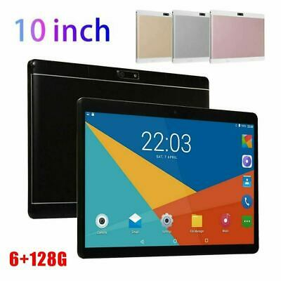 10 Inch Tablet PC Android 8.0 6+128GB 8 Core WIFI Dual SIM Camera GPS IPS screen