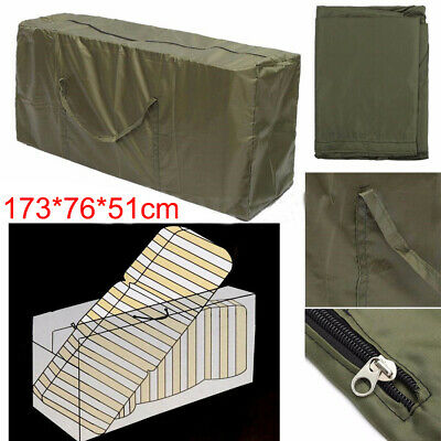 Extra Large Zipped Waterproof Garden Furniture Cushion Storage Bag Heavy Duty UK