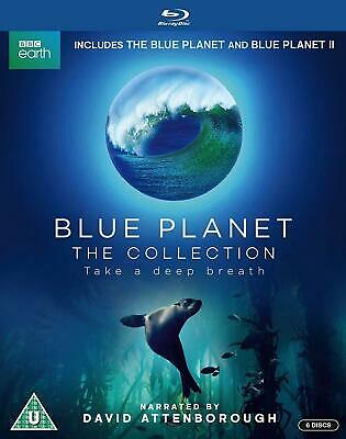 David Attenborough Blue Planet The Collection Blu Ray New & Sealed