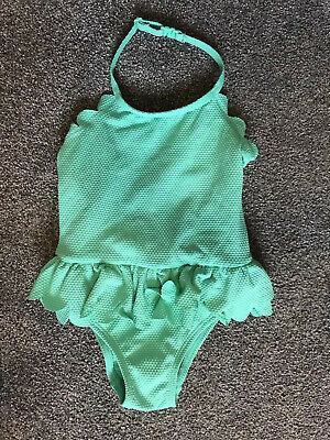 Baby Girls NEXT Swim Suit All In One Halter Neck Style  Age 12-18 Months