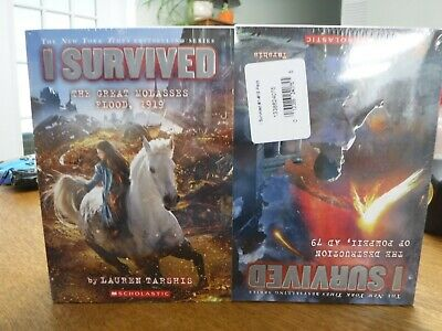 Lot of 19 Brand New I Survived Series Book Set By Lauren Tarshis, FREE SHIPPING