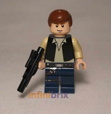Lego Han Solo Minifigure from set 7965 Star Wars NEW sw334