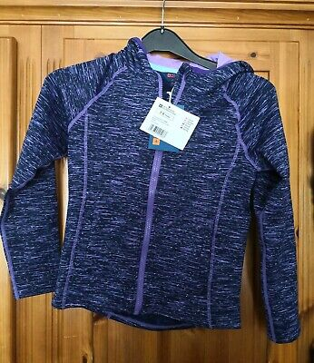 Girls Age 7-8 yrs Mountain Warehouse Purple Jacket Hooded Top New RRP £29.99