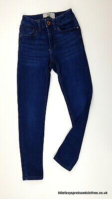 10 year New Look 915 Generation girls jeans stylish blue