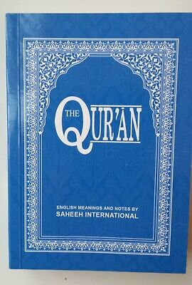 The Quran English Meanings & Notes by Saheeh International