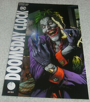 Dc Comics Doomsday Clock # 5 Vf+/Nm Cover B