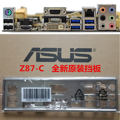 *•✿•*SAME DAY SHIPPING 3PM*•✿•*NEW*•✿•*ASUS IO SHIELD BACKPLATE FOR F1A75-V
