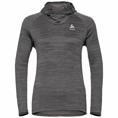 Odlo MILLENNIUM ELEMENT Midlayer Hoody Lady | 312961-10180 | graphite grey