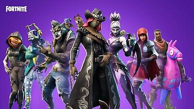 Fortnite Game Wall Poster Wallpaper Glossy - A4 A3 A2 A1 UK Free Shipping