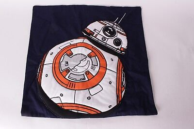 NWT Pottery Barn Kids Star Wars Droid 20 x 20 BB8 pillow cover navy blue droid