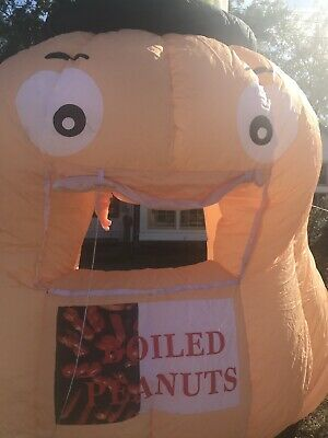 Huge Peanut Vending Inflatable Booth One Of A Kind