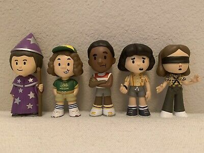 Funko Mystery Mini Stranger Things Lot of 5 Lucas Will Mike Dustin and Eleven