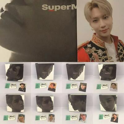 【SuperM】*KOREAN VER* SUPER M 1ST MINI CD + POSTER + MATCHING MEMBER PHOTOCARD