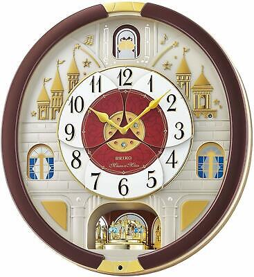 Seiko  Special Edition Swarovski crystals sparkle  Motion Clock with 24 Melodies