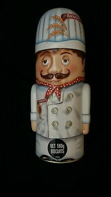 ARNOTT'S THE CHEF Baker BISCUIT TIN 2011