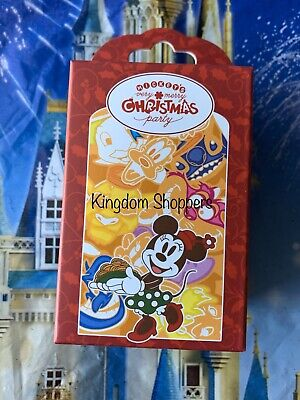 2019 Disney Mickey's Very Merry Christmas Party Mystery Pin Box 2 Pins Per Box