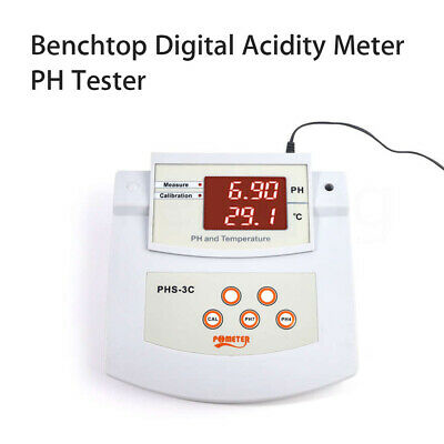 Digital Acidity & Thermometer Meter Tool Automatic Calibration For Food Making