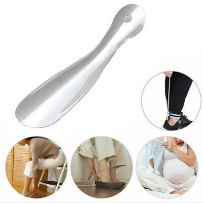 19cm Professional Shoehorn Stainless Steel Metal Shoe Horn Spoon Lifter Tool