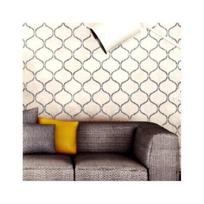 JASMINE TRELLIS Moroccan Stencil - Furniture Wall Floor stencil for Painting