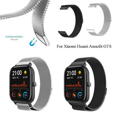 Metal WristBand Milanese Magnetic Strap For Xiaomi Huami Amazfit GTS 20mm