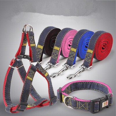No Pull Adjustable Dog Pet Vest Harness Nylon Small/Medium/Large Pet leash
