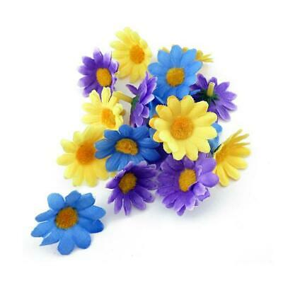 Buddly Crafts 40mm Daisies Flower Heads 18pcs