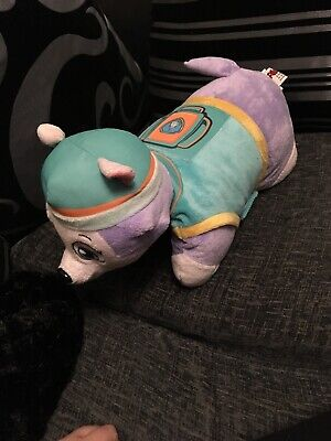 Rare Paw Patrol Everest Official Pillow Pet plush Nickelodeon Cute Cuddly Toy