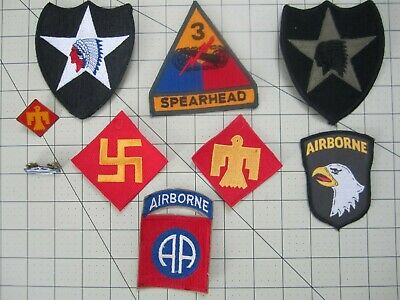 Military arm patches U.S.