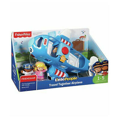 Fisher Price Little People Travel Together Airplane Set NEW Toys Educational