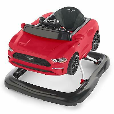 Ford Mustang 3 Ways Baby Walker Ride on Baby Walker Mode & Push-behind Mode