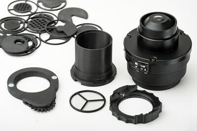 Nikon Eclipse microscope condenser darkfield polarizing oblique insert set