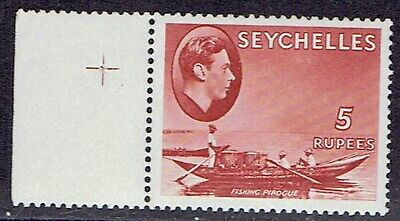 Seychelles 1942 sg149a 15r Red Ordinary MNH