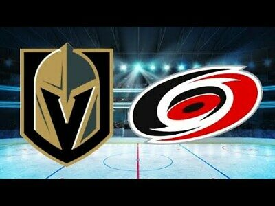 *(2)Tickets Sec 209 Row B Vegas Golden Knights VS Carolina Hurricanes 2/8/20*