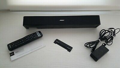 Bose Solo 5 TV Sound System with Universal Remote Control & TV Mount - Used
