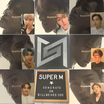 【Superm】*Korean Ver*  1St Mini Album [Complete Matching 7 Member Set] + Poster
