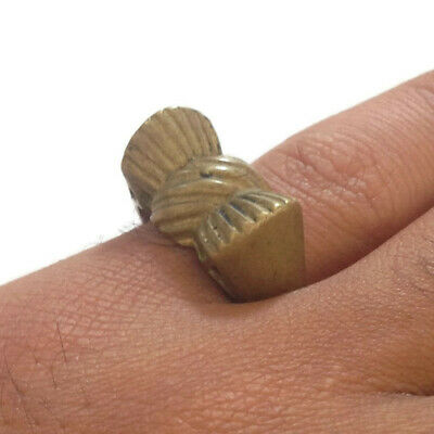 Extremely Ancient Old Ring Bronze Legionary Ring Bronze Rare Type Amazing