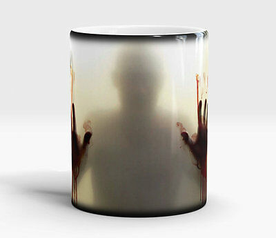 Heat Colour Changing Magic Mug Funny Zombie The Walking Dead /Plain/Personalised