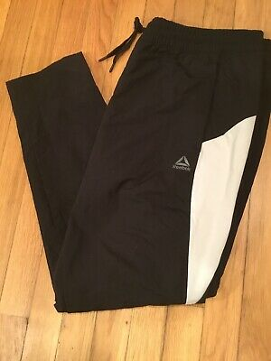 Reebok Mens One Series ColorBlock Training Pants Size XL Black  $70