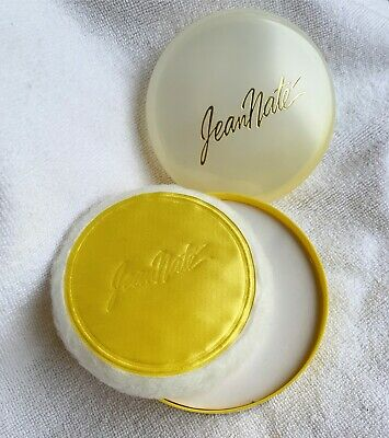 JEAN NATE PERFUMED BATH POWDER WITH PUFF - Powder never used (no box) VINTAGE
