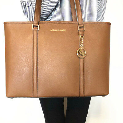NWT MICHAEL KORS Sady Large Multifunctional Top Zip Tote