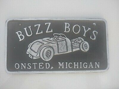 Car Club Plaque --------- So Many To Choose From Wow There's Alot Check It Out
